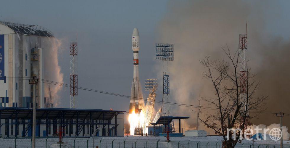 """Старт ракета-носителя """"Союз-2.1б"""" с космодрома Восточный. Фото www.roscosmos.ru"""
