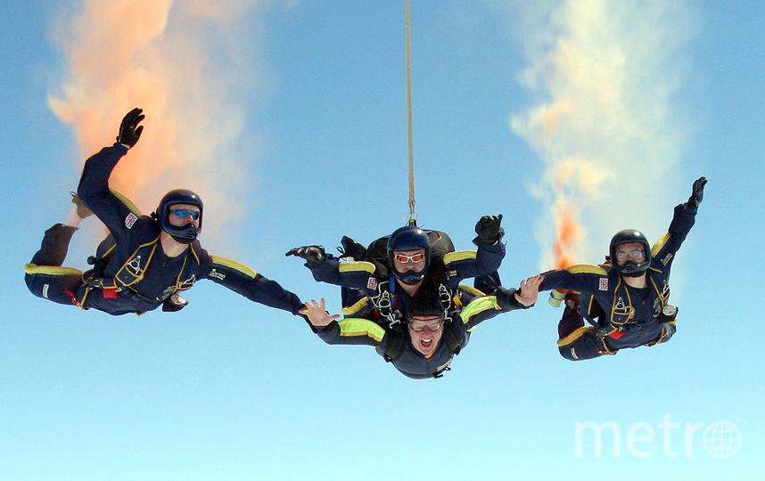 Скайдайверы. Фото Getty
