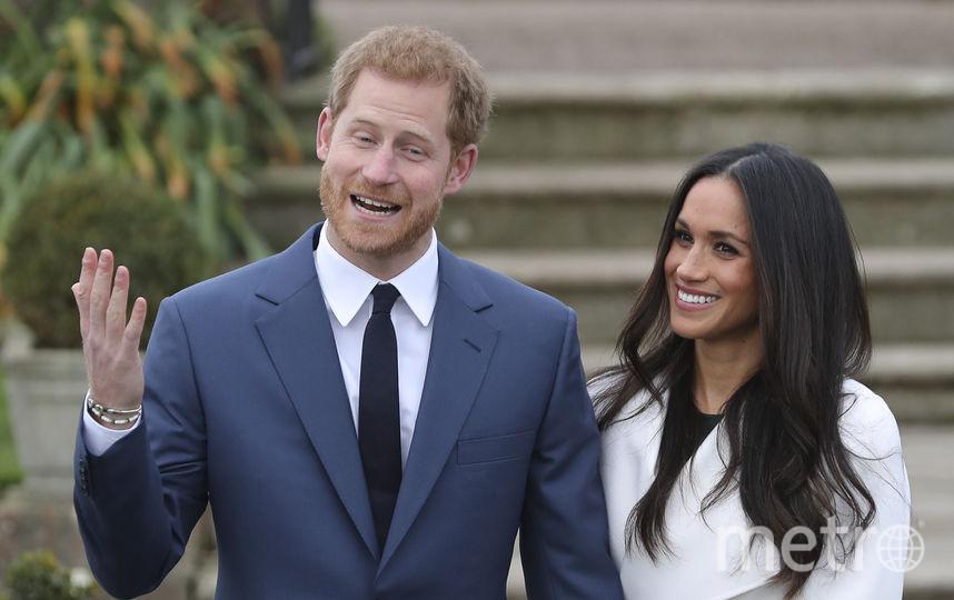 Принц Гарри и его невеста Меган Маркл. Фото AFP