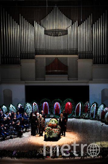 Церемония прощания с Дмитрием Хворостовским. Фото AFP