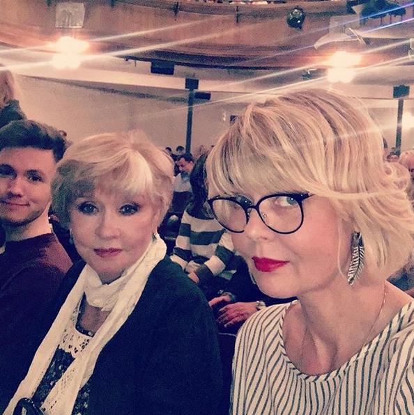 Вера Алентова и Юлия Меньшова. Фото Скриншот Instagram: juliavmenshova