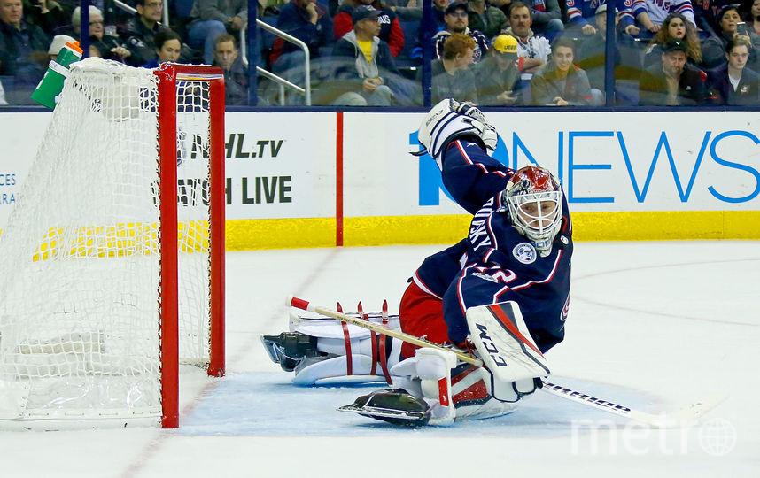 Российский хоккеист Сергей Бобровский. Фото Getty
