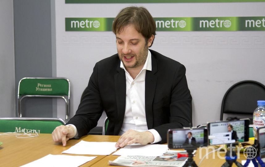 """Александр Цыпкин. Фото Виктория Вон, """"Metro"""""""