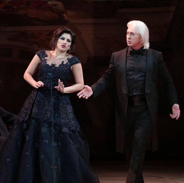 Дмитрий Хворостовский на концерте. Фото Скриншот Instagram: hvorostovsky
