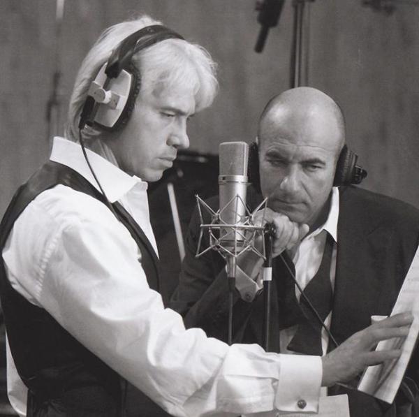 Дмитрий Хворостовский и Игорь Крутой. Фото Скриншот Instagram: hvorostovsky