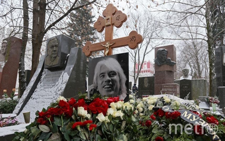 Похороны Дмитрия Хворостовского в Москве. Фото РИА Новости
