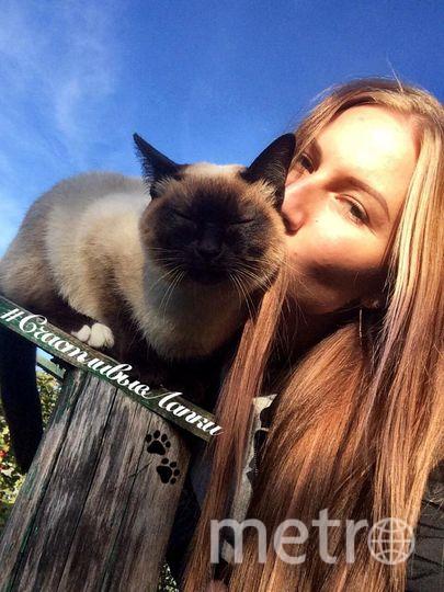 Хозяйка- Екатерина Никифорова.  Кошечка- Ника.