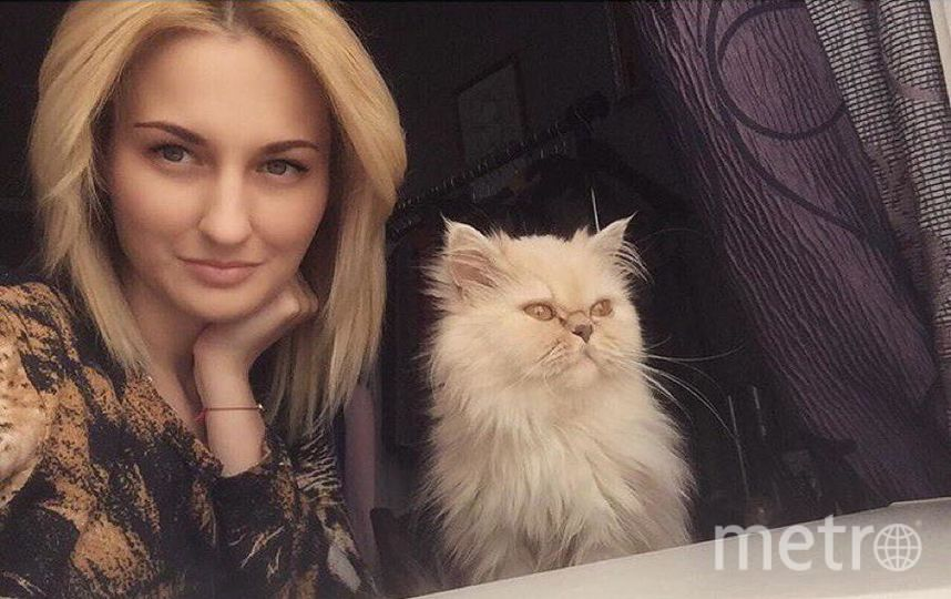 """Коровина Анастасия. Котика зовут """"Лёлечка""""."""