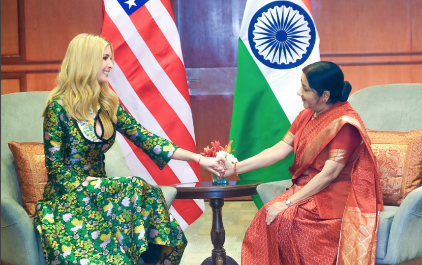 Иванка Трамп в Индии. Фото instagram.com/ivankatrump