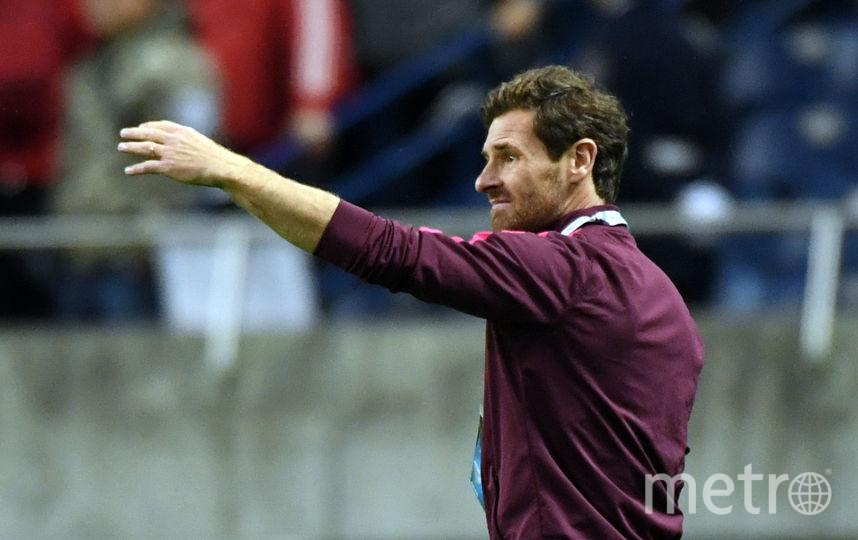 Португальский тренер Виллаш-Боаш. Фото Getty