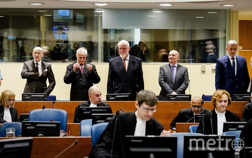 Трибунал рассматривал апелляцию Праляка на приговор. Фото AFP