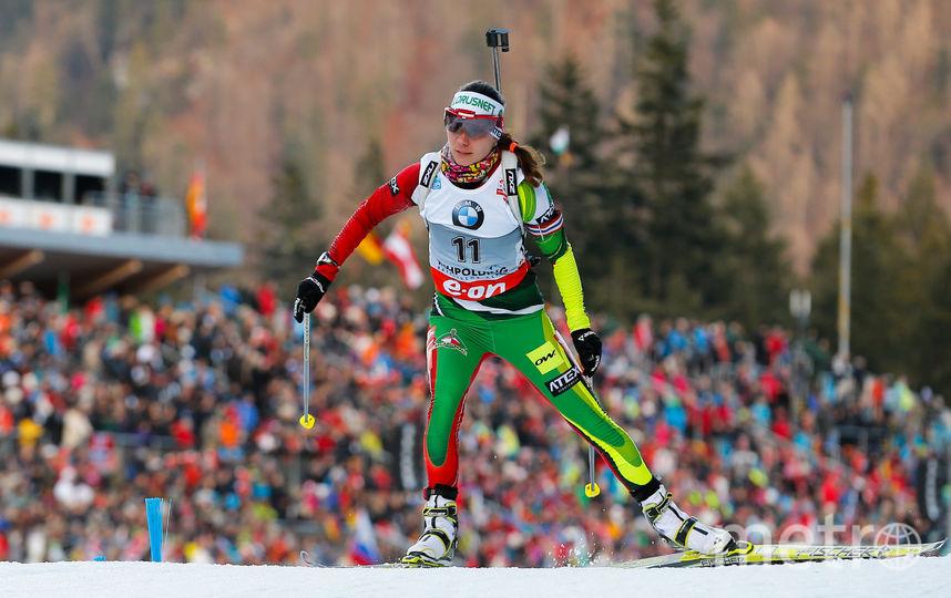 Белорусская биатлонистка Надежда Скардино. Фото Getty
