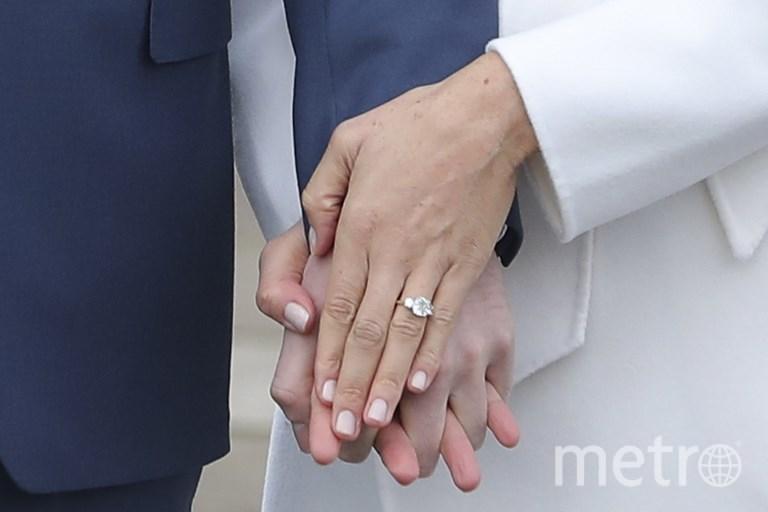 Помолвочное кольцо Меган Маркл. Фото AFP
