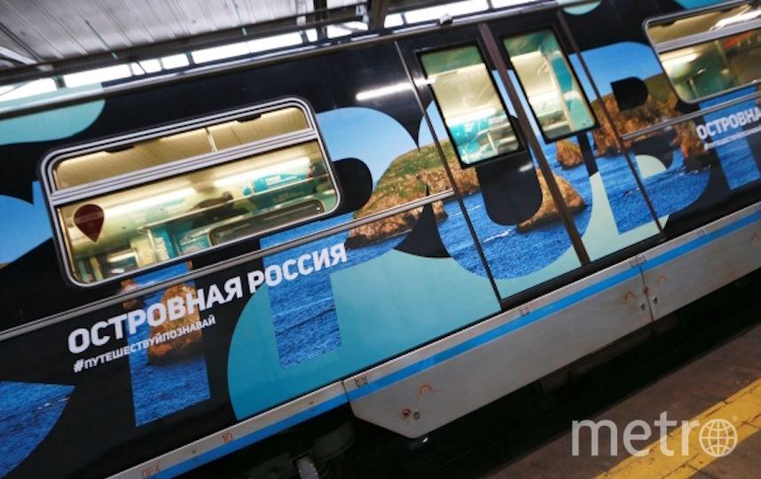 В столице России появился поезд метро, посвящённый Году экологии