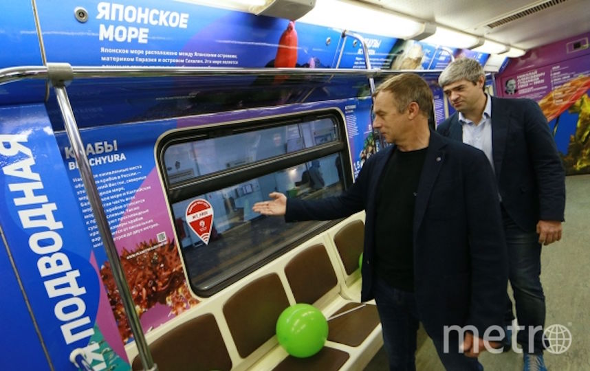 Встоличном метро кГоду экологии запустили тематический поезд