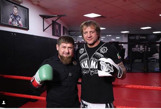Рамзан Кадыров и Александр Емельяненко. Фото www.instagram.com/alexemelyanenko