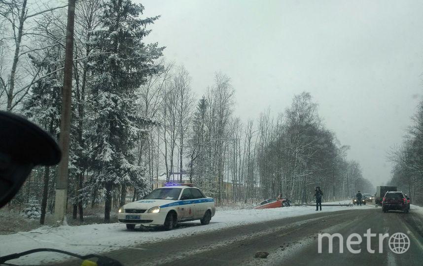 Гололедица стала предпосылкой 175 аварий вПетербурге