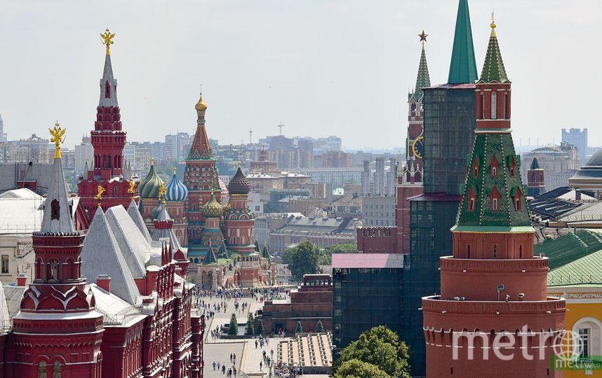 Москва заняла 2 место в рейтинге самых популярных городов мира по геотегам. Фото Василий Кузьмичёнок