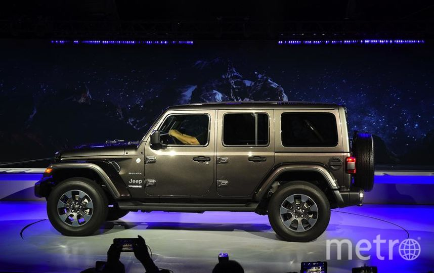 Автошоу в Лос-Анджелесе. Jeep Wrangler. Фото Getty