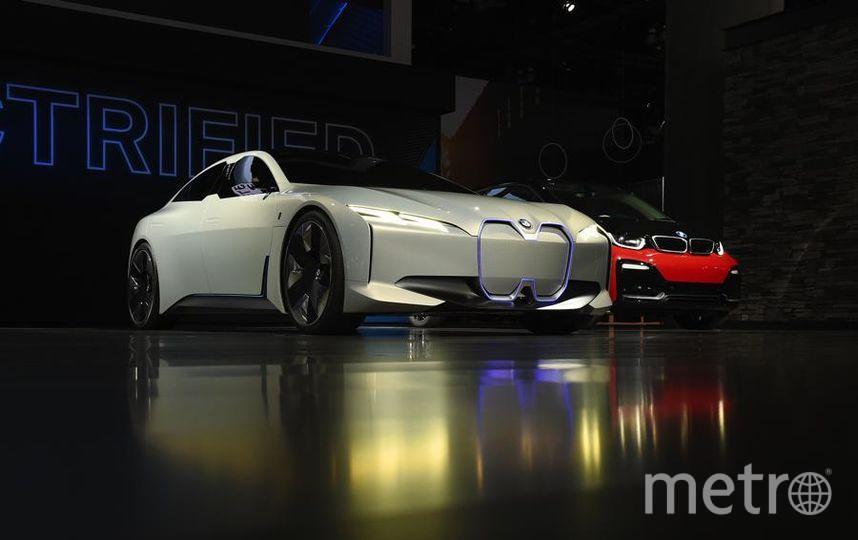 Автошоу в Лос-Анджелесе. BMW i Vision Dynamics. Фото Getty