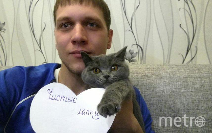 Привет вам всем от Маси! мы любим Чистые Лапки. Фото Колодуб Сергей Вадимович