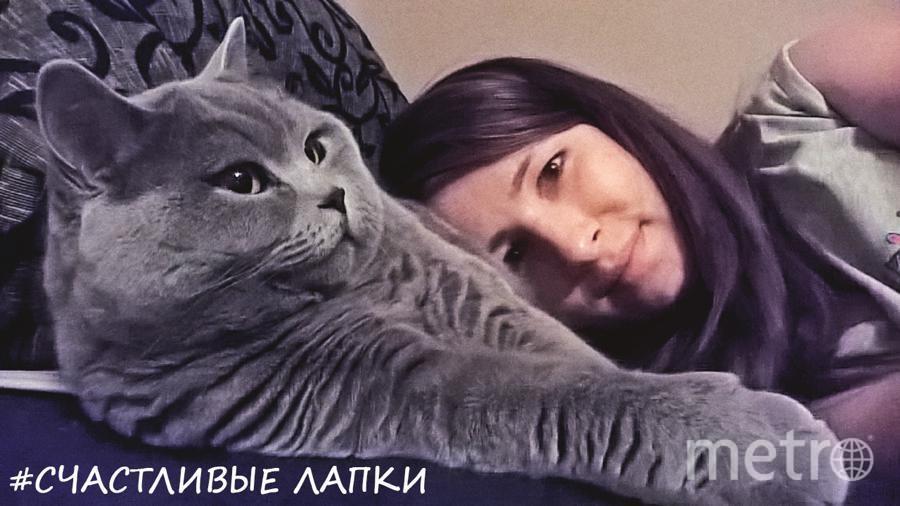Меня зовут Екатерина Галкова, кота зовут Тоша.