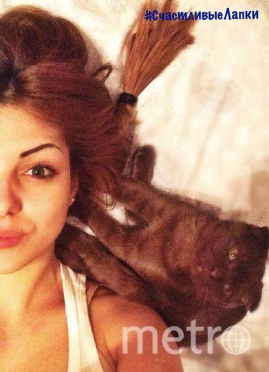 Меня зовут Нурбагандова Мила, моего котика Муслик.
