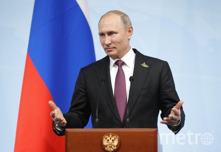 Президент России Владимир Путин. Фото AFP