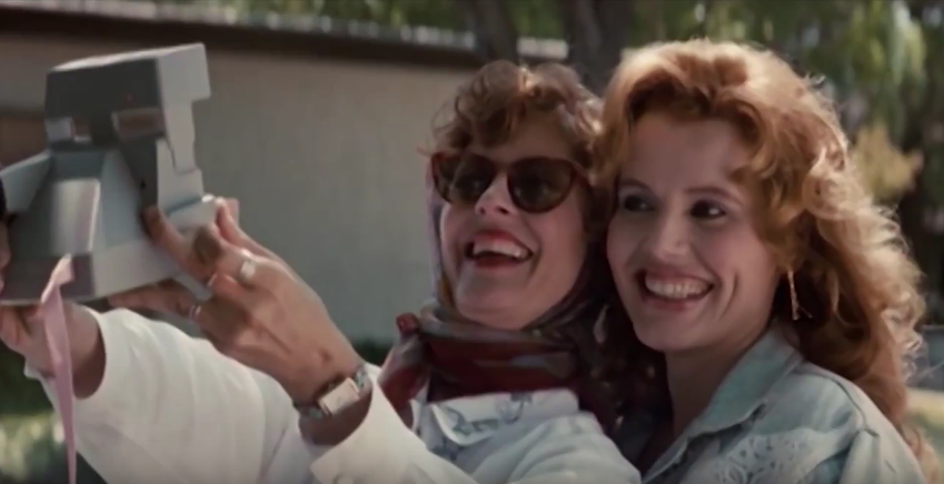 """""""Тельма и Луиза"""". Фото Скриншот Youtube"""