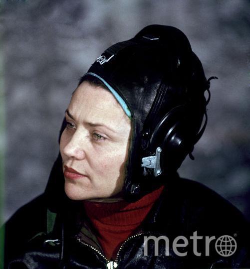 Лётчик-испытатель Марина Попович. Фото РИА Новости