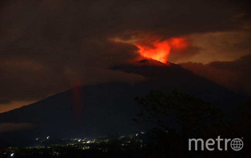 Извержение вулкана наБали: NASA опубликовало изумительный снимок изкосмоса