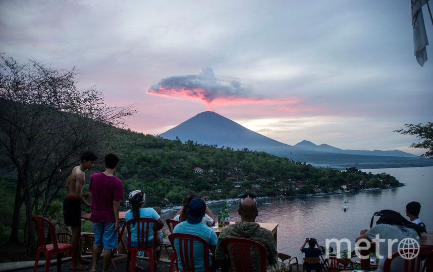 Вулкан Агунг. Фото AFP