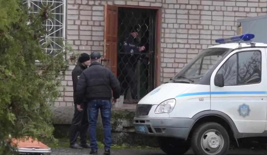 На Украине мужчина взорвал кабинет во время заседания суда.