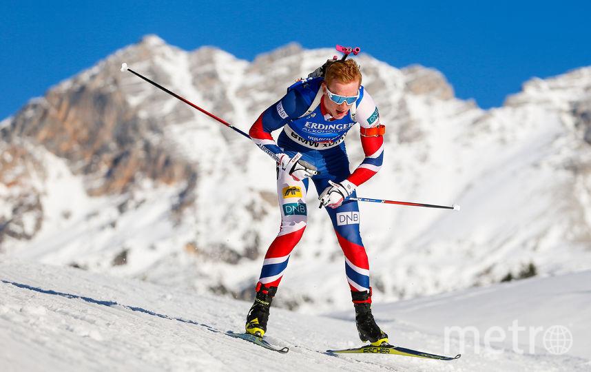 Норвежский биатлонист Йоханнес Бё. Фото Getty