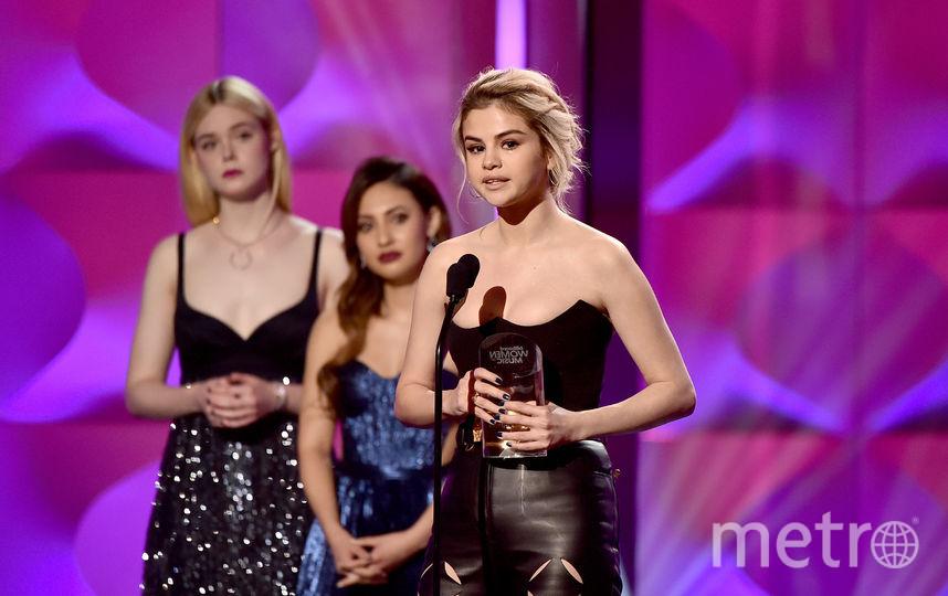 "Премия Billboard Women In Music-217. Селена Гомес получила премию ""Женщина года"". Фото Getty"