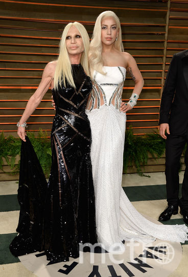 Леди Гага и Донателла Версаче. Фото Getty