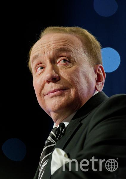 Александр Масляков, телеведущий. Фото РИА Новости