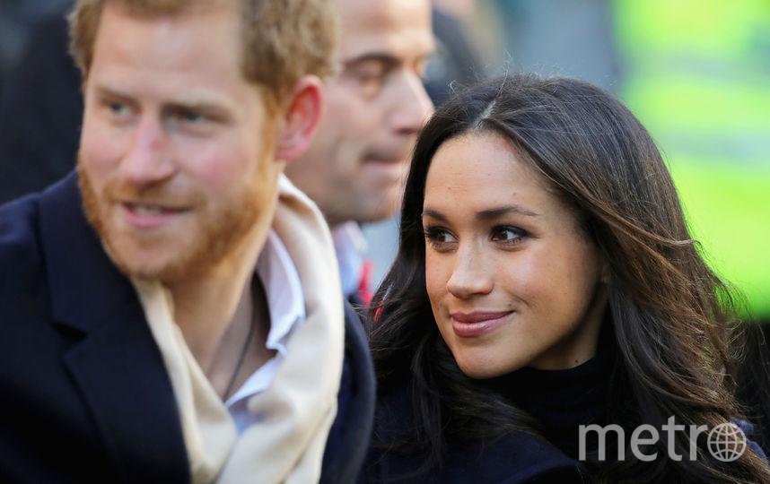 Принц Гарри и Меган Маркл в Ноттингеме. Фото Getty