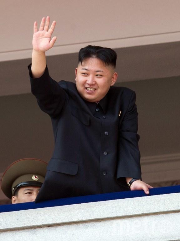 Глава КНДР Ким Чен Ын. Фото AFP