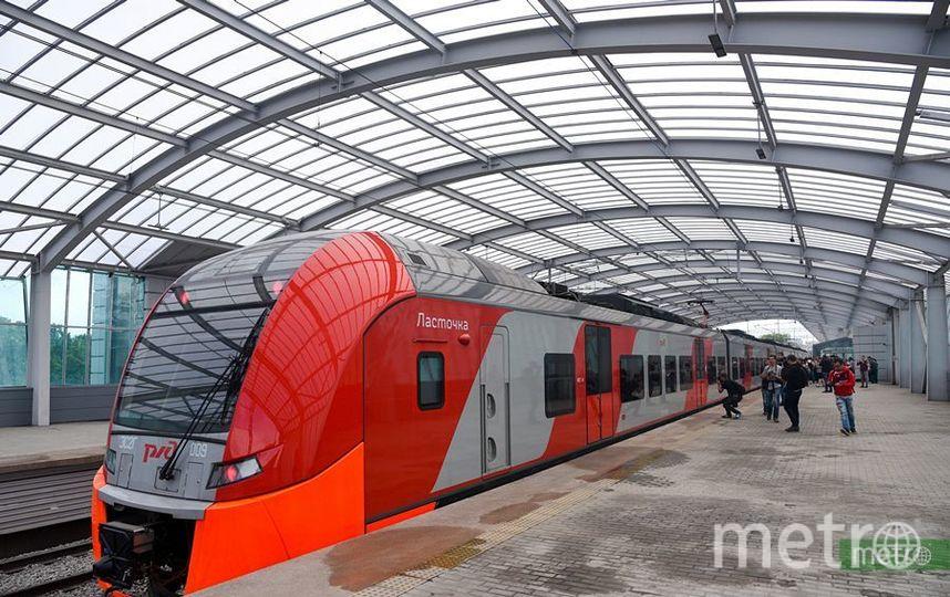 Поезда на МЦК ходят в особом режиме. Фото Василий Кузьмичёнок