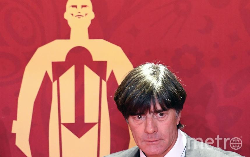 Тренер сборной Германии Йохаим Лёв. Фото AFP