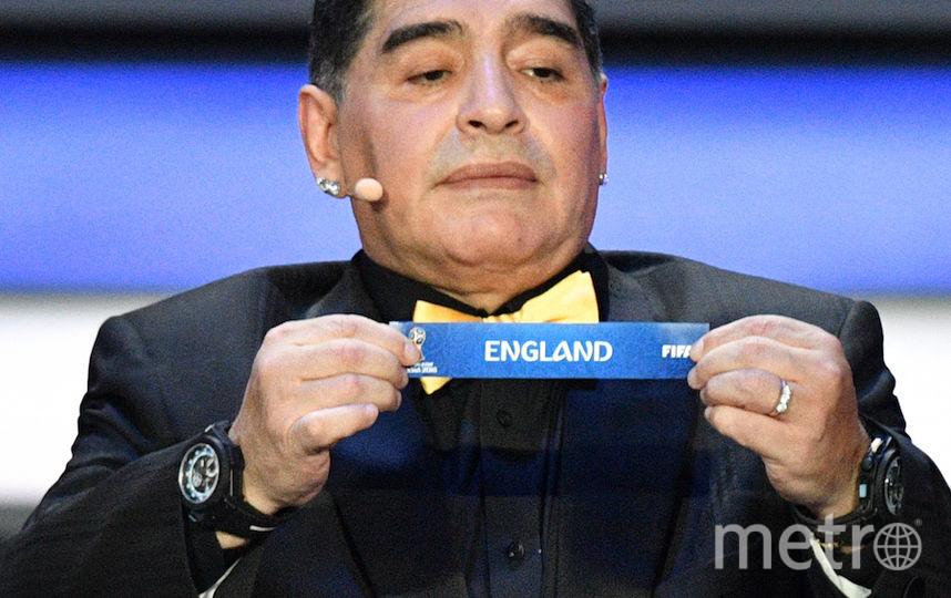 Диего Марадона. Фото AFP
