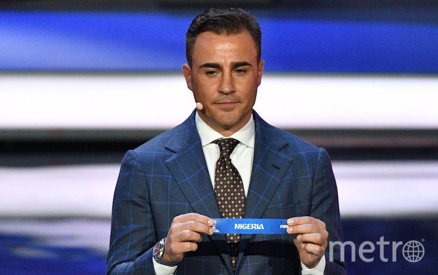 Фабио Каннаваро. Фото AFP