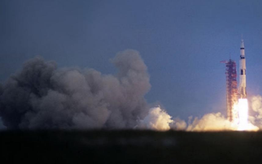 С космодрома Плесецк стартовала ракета с военным спутником. Фото Getty