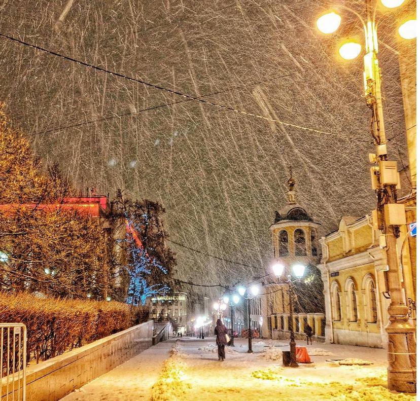 Почти треть месячной нормы осадков выпало в Москве за сутки. Фото Скриншот https://www.instagram.com/rina__es/