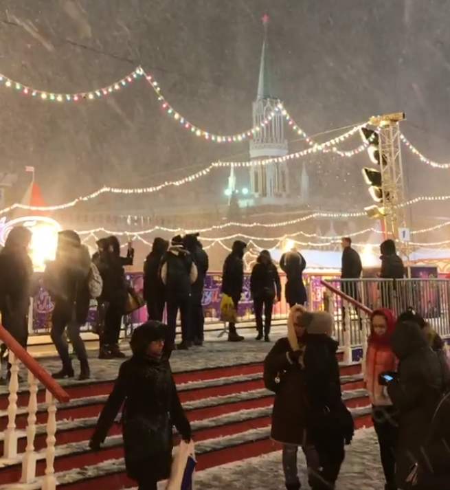 Почти треть месячной нормы осадков выпало в Москве за сутки. Фото Скриншот https://www.instagram.com/irina_v.i.a/