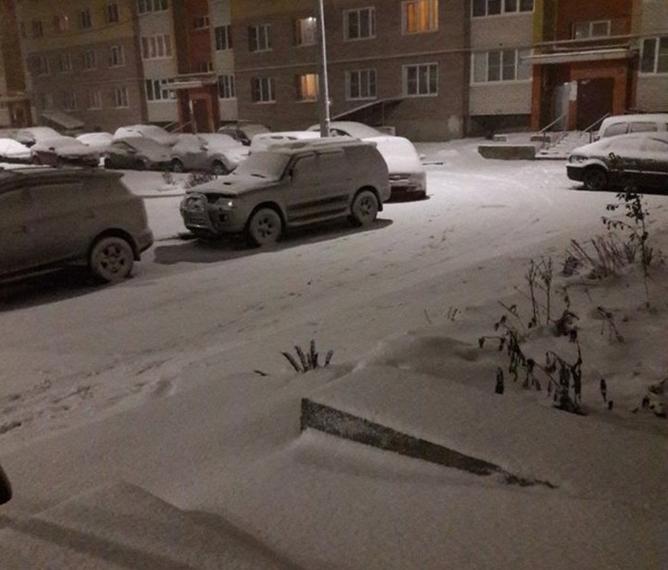 Почти треть месячной нормы осадков выпало в Москве за сутки. Фото Скриншот https://www.instagram.com/marina.savenok/
