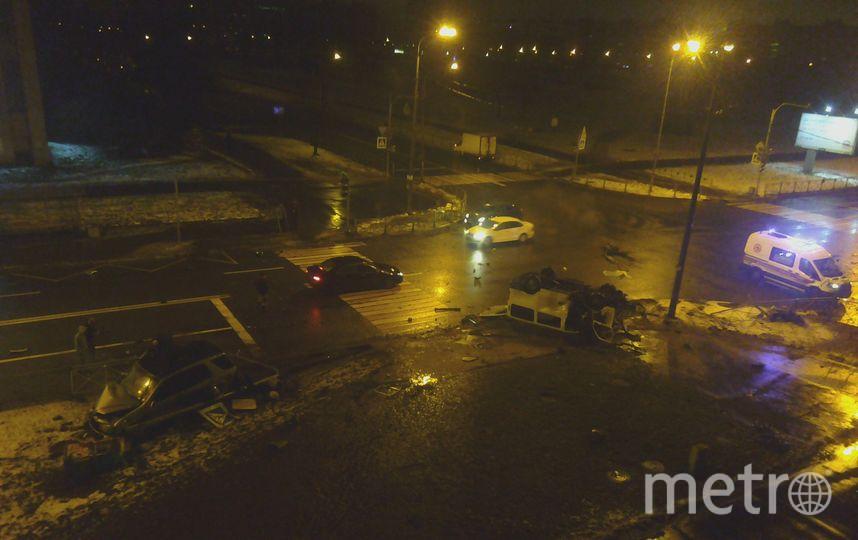 Смертельное ДТП в Петербурге. Фото vk.com/spb_today