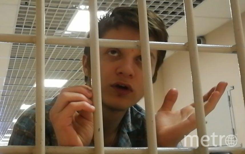 19-летний обвиняемый Вадим Осипов.
