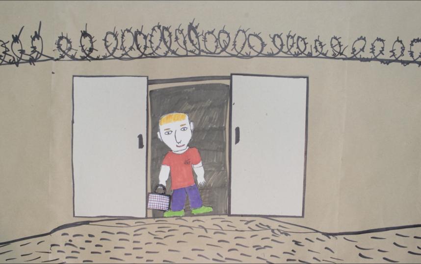 Освободившийся Вовочка оступился, но концовка мультфильма осталась с открытым финалом. Фото «Вконтакте»/Студия Да